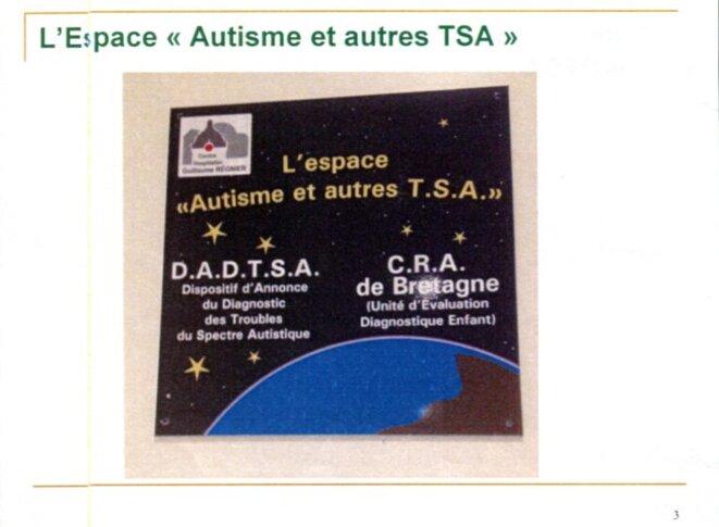 """Espace """"Autisme et autres TSA"""""""
