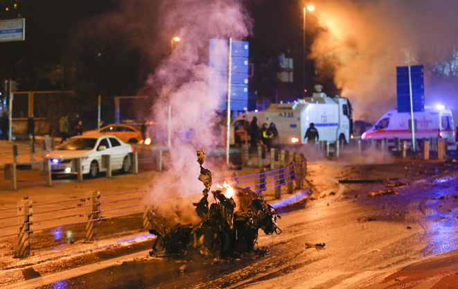 Atentado bomba en Estambul el 10 de diciembre de 2016. © Reuters