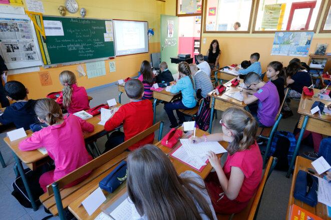 Dans une salle de classe © Reuters