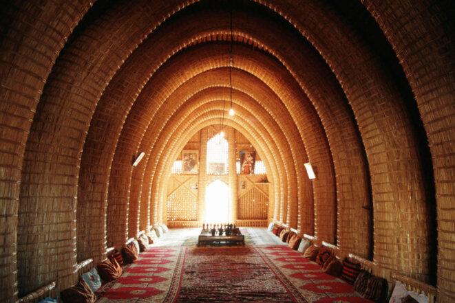 Mudhif des marais irakiens