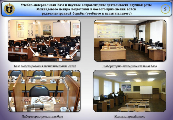Les installations pour parfaire ses connaissances en technologie de l'information à Tambov
