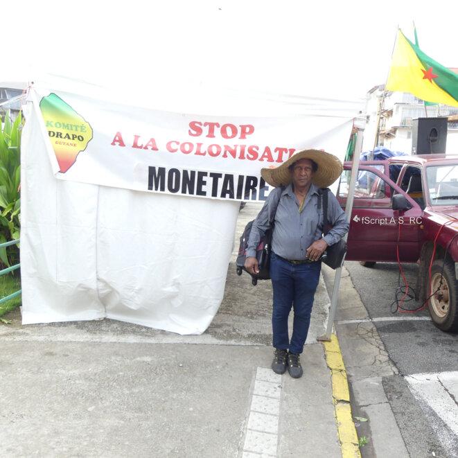 M Raymond Charlotte, Co-fondateur de l'Organisation Guyanaise des Droits Humains, OGDH).