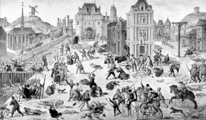 Saint Barthélemy à Paris (1572) par François Dubois © S.H.P.F.