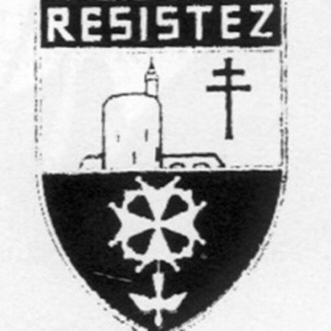 Insigne des Protestants de la France Libre © S.H.P.F.