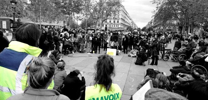 Arrivée des Jours Heureux à République © Didier Fradin