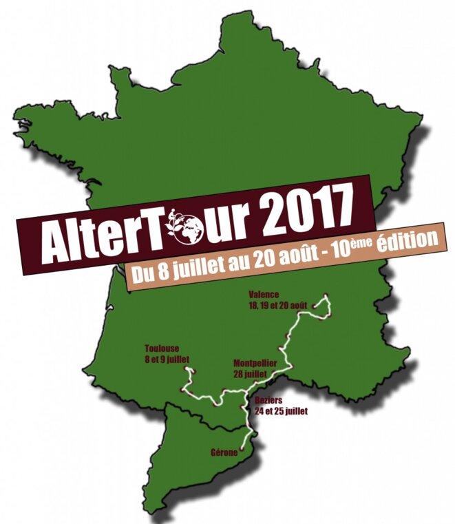 Parcours AlterTour 2017 © AlterTour