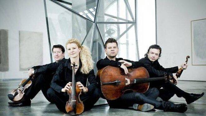 Le quatuor Pavel Haas.