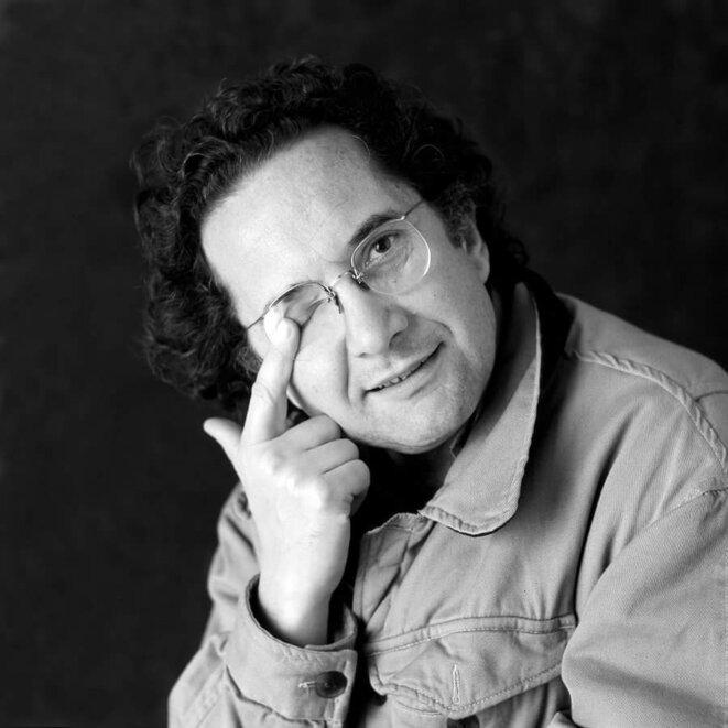 Ricardo Piglia, par Eduardo Grossman. © eduardo grossman