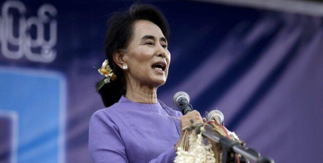 Aung San Su Kyi en mai 2015. © Reuters
