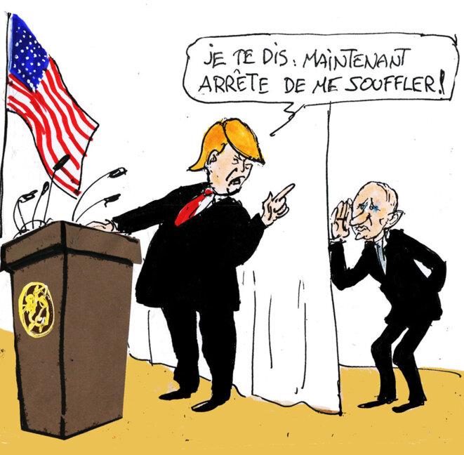 Trump © Calvi