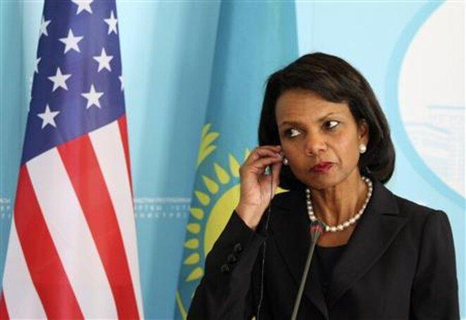 Condoleezza Rice, conseillère à la sécurité nationale de 2001 à 2005, donne le feu vert à la CIA © Reuters