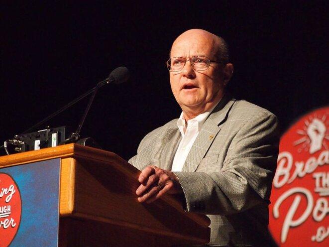 Lawrence Wilkerson en 2016. Il était le chef de cabinet de Colin Powell, secrétaire d'Etat