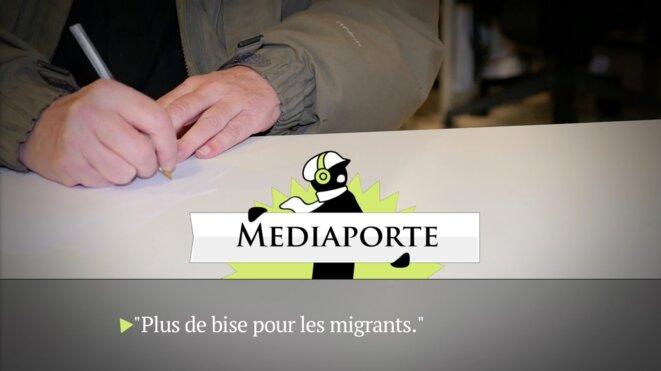 Vidéo accessible dans l'article. © Mediapart
