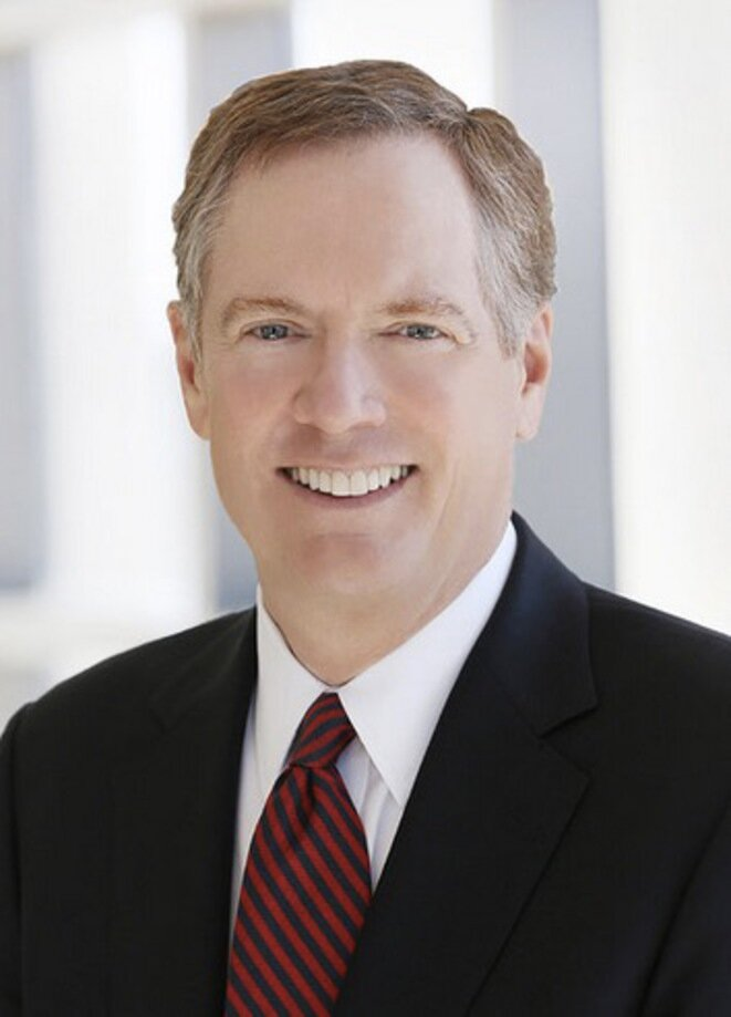 Robert Lighthizer, el abogado de Big Steel como USTR. © DR