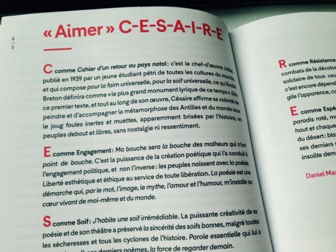 Texte Aimer C E S A I R E Le Club De Mediapart
