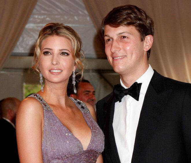Kushner, avec son épouse Ivanka Trump © Reuters