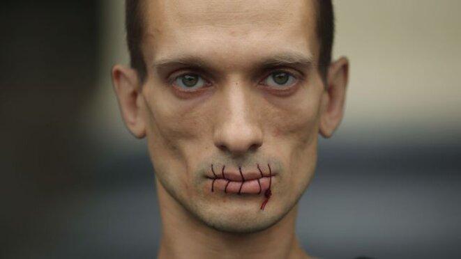 Piotr Pavlenski. © Piotr Pavlenski