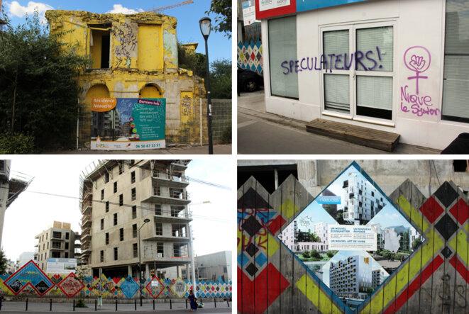 """Rénovation urbaine"" a Saint-Denis © Léopold Lambert"