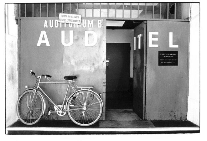 France, le vélo de Raymond Depardon © Christian Rausch