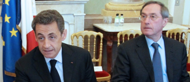 Nicolas Sarkozy et Claude Guéant © Reuters