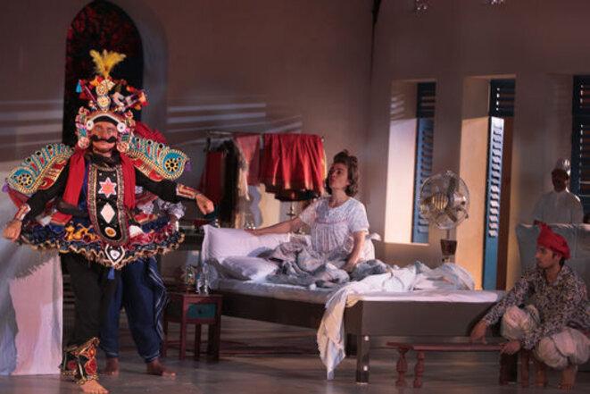 Une chambre en Inde - Théâtre du soleil © Christian Solans
