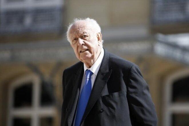 Jean-Claude Gaudin, sénateur et maire de Marseille, président du groupe UMP de 2011 à 2014 © Reuters