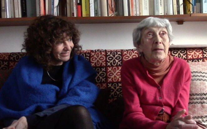 Geneviève Brisac et Jenny Plocki (trois vidéos dans l'article)