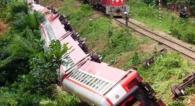L'accident a fait au moins 78 morts. © Reuters