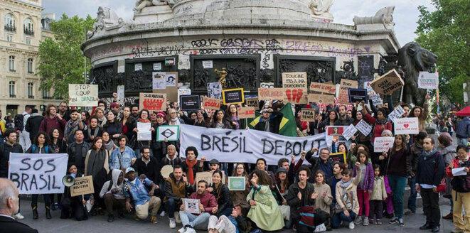 Brésil Debout - Place de la République