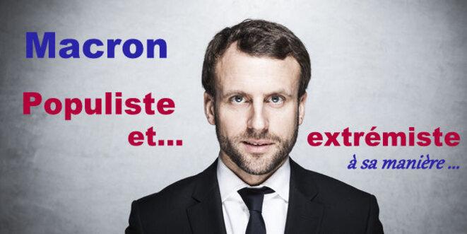 "La France n'a pas besoin de ""macronades"" © Pierre Reynaud"
