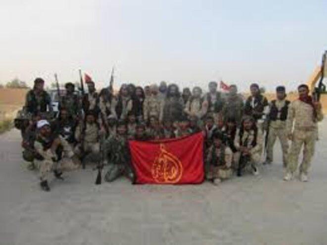 bataillon Al sanadid, composante des FDS, est une force tribale arabe