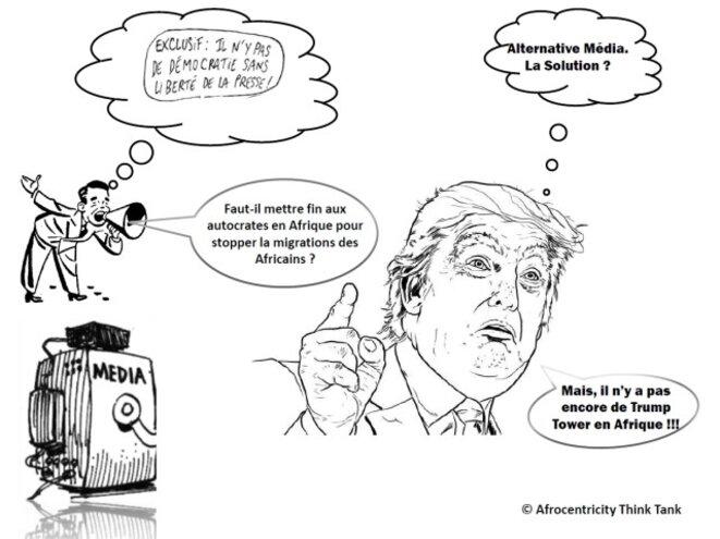 Donald Trump inventeur de l'information alternative