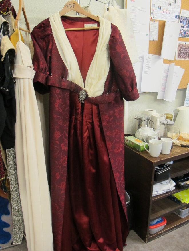 Le manteau de robe finalisé