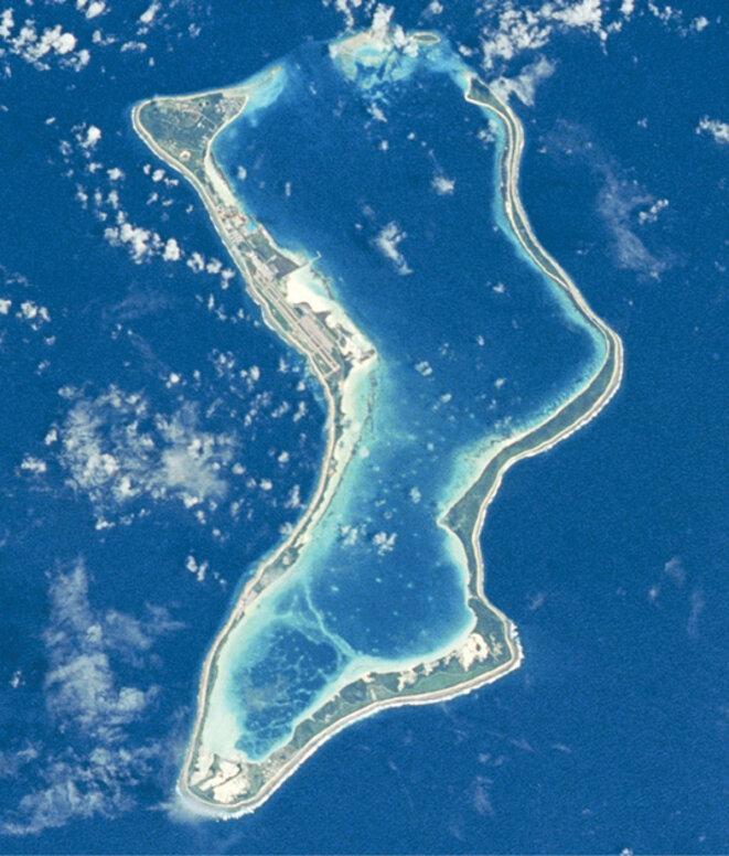 Île de Diego Garcia © Wikipedia, creative commons
