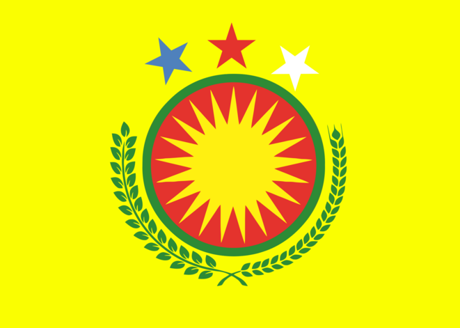 drapeau du Rojava