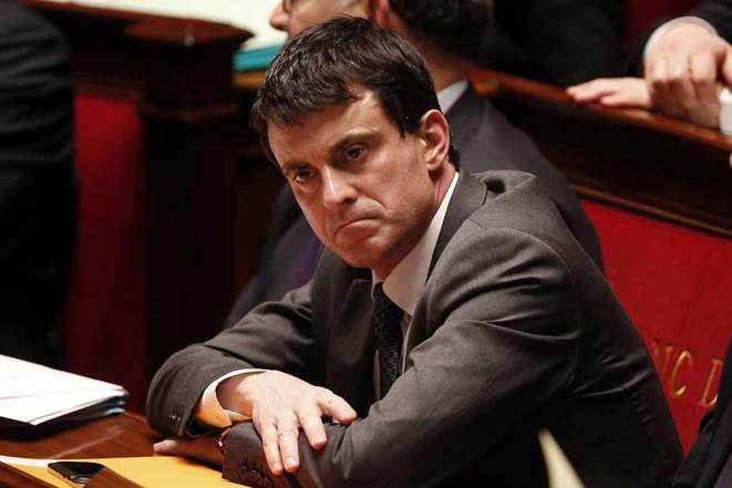 Manuel Valls à l'Assemblée nationale © Reuters