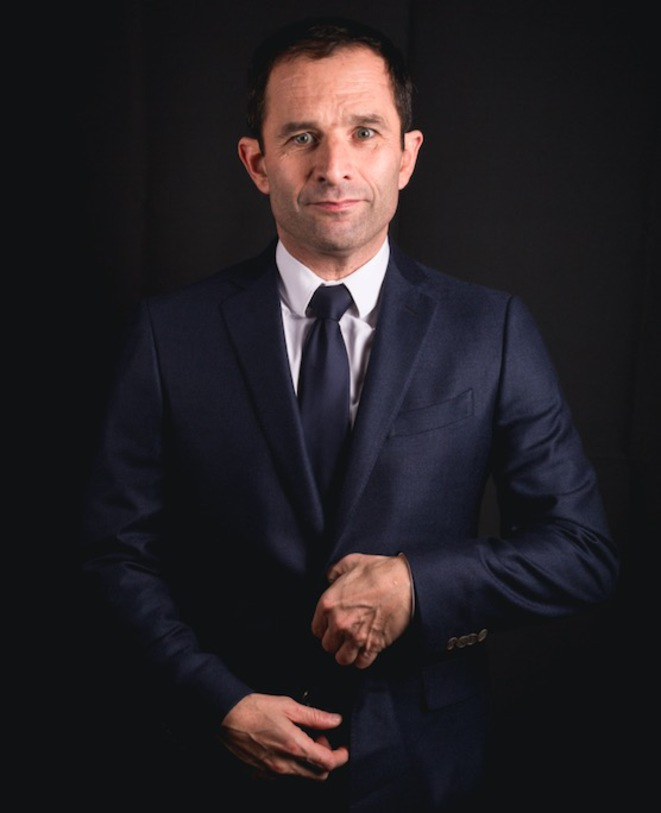 Benoît Hamon, en janvier dernier. © Nicolas Serve