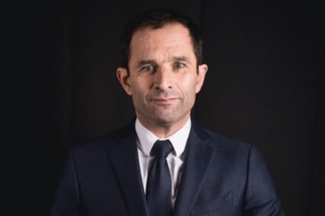 Benoît Hamon, en enero de 2017. © Nicolas Serve