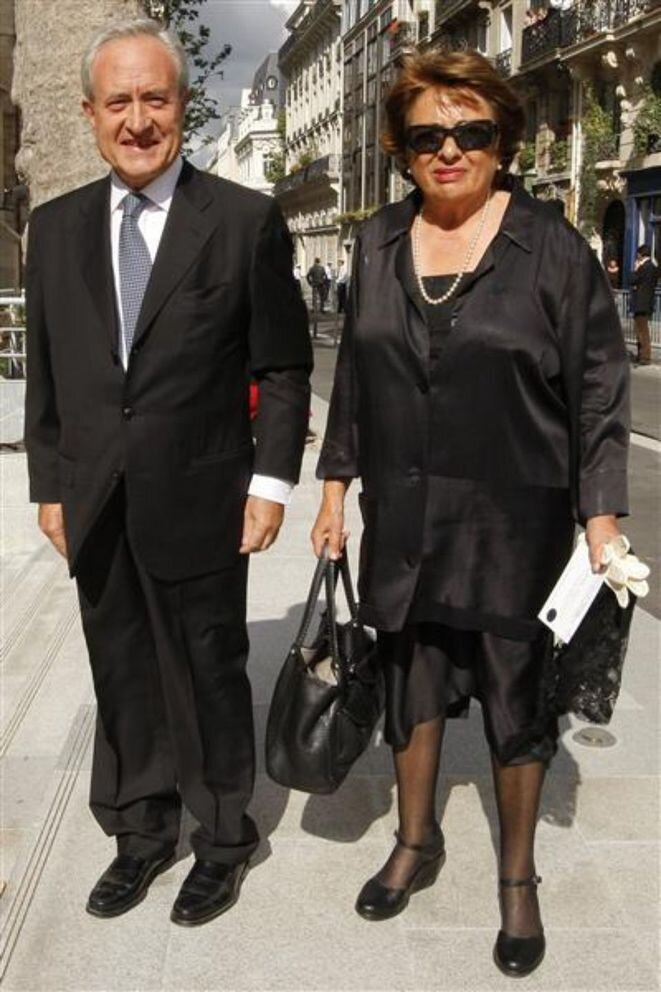 Jean y Xavière Tiberi. © Reuters