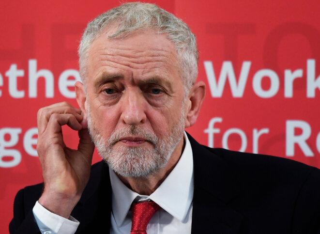 Jeremy Corbyn, le 10 janvier 2017 © Reuters / Toby Melville