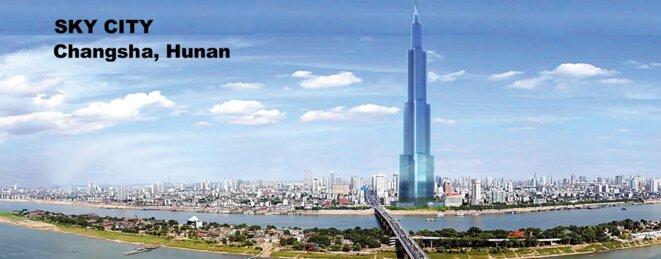 Broad Sustainable Buildings, Sky City, rendu