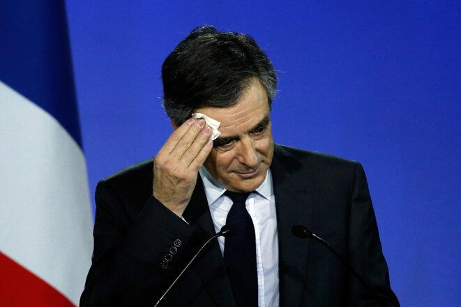 François Fillon, le 19 janvier 2017. © Reuters