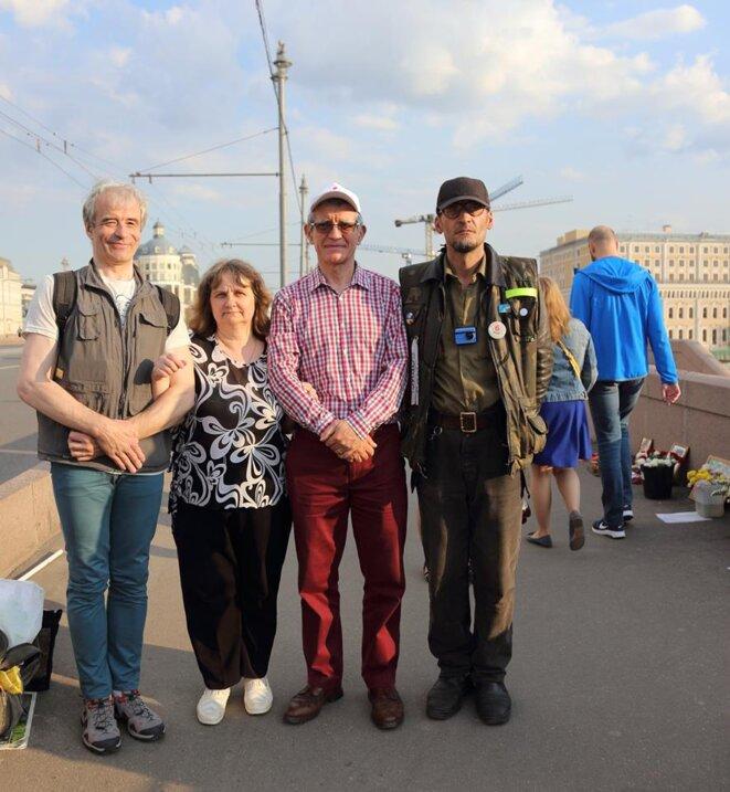 Sur le pont Nemtsov © bl