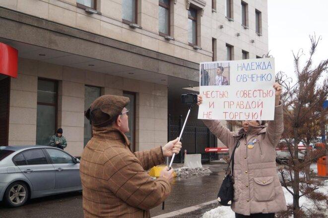 Piquet à Moscou © bl