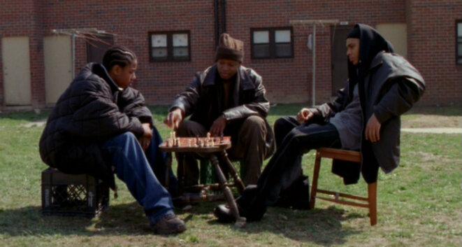 """Extrait de la série """"The Wire"""" (2002)"""