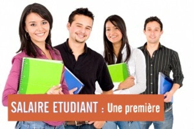 Le salaire étudiant, l'une des 100 réformes de Pierre Reynaud © Pierre Reynaud
