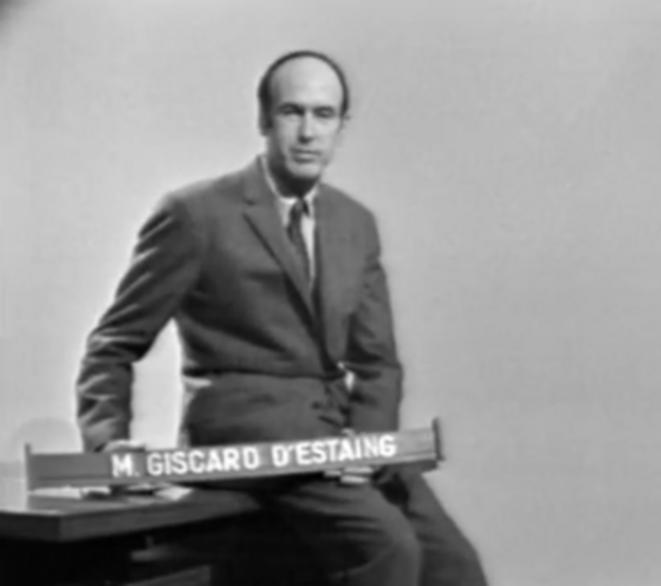 Valéry Giscard d'Estaing, juin 1968