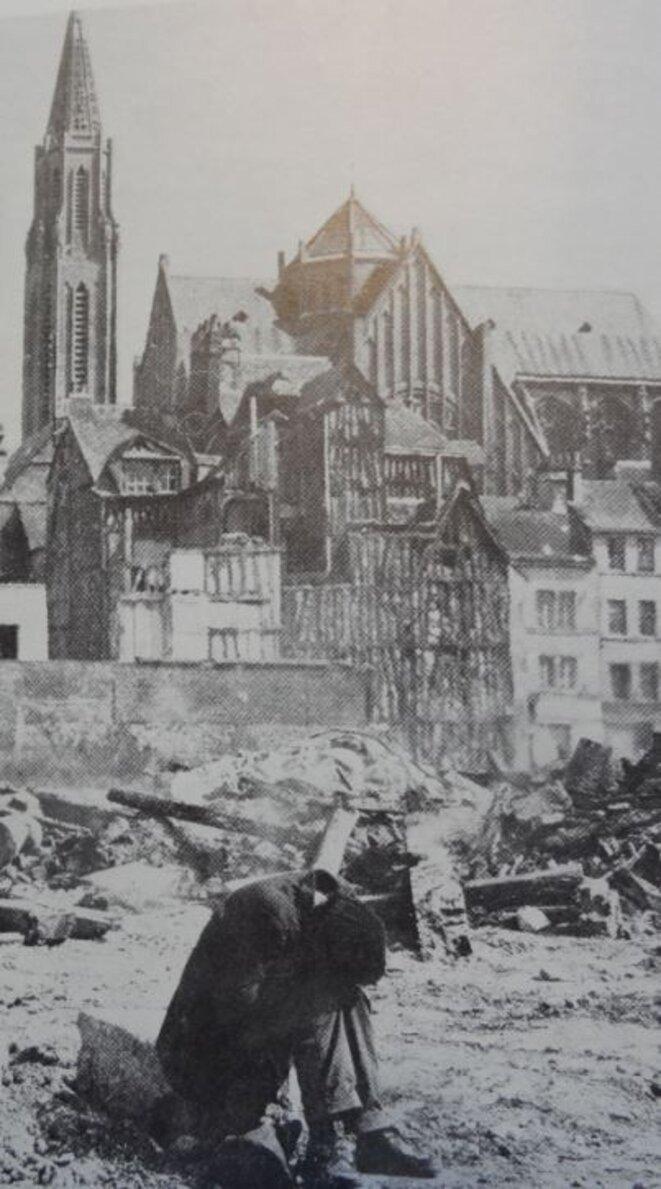 Mélancolie de la déraison urbanistique. Destruction de l'îlot B (quartier bas Saint-Nicaise) en 1970