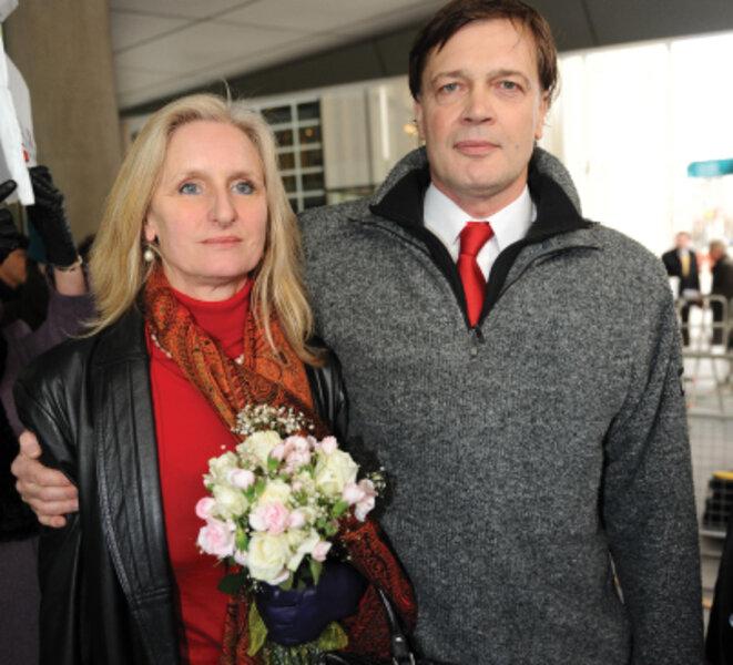 A. Wakefield, avec sa femme Carmel, qui a donné son prénom à l'entreprise.