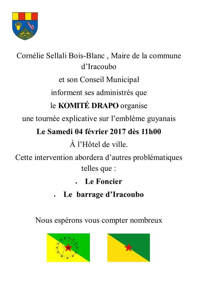 Mairie D'IRACOUBO.